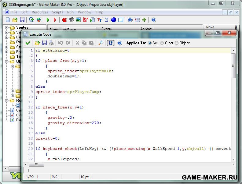 Программу для создание игр только на русском